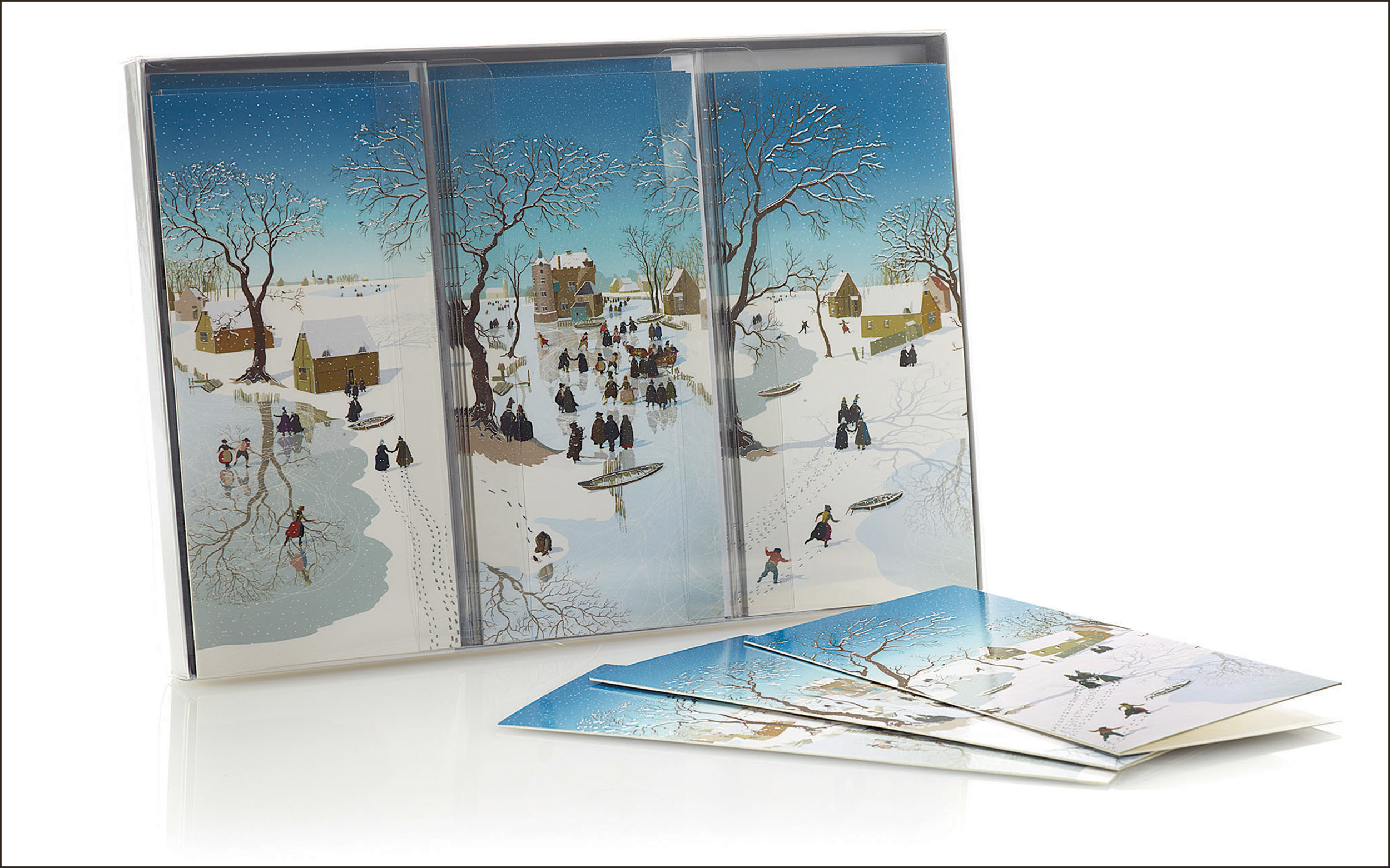 National Gallery Christmas Cards Triple Box Set